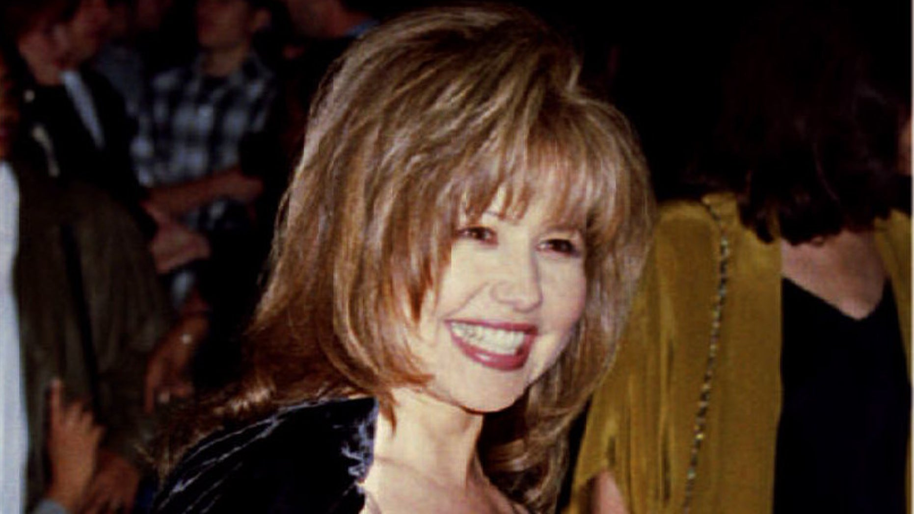 """March 16, 1994. Pia Zadora arrives for screening of """"Naked Gun 33 1/3 : The Final Insult"""" in Los Angeles"""