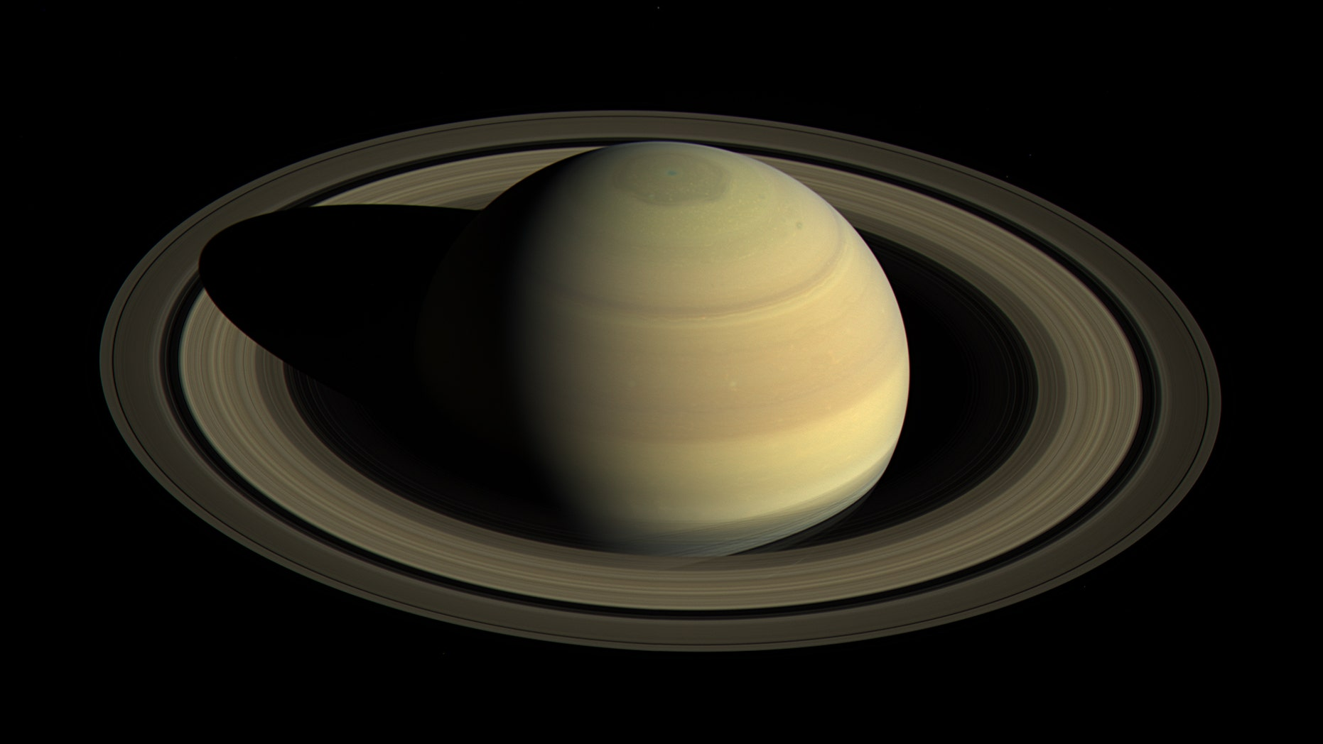 Saturn. (NASA/JPL-Caltech/Space Science Institute)