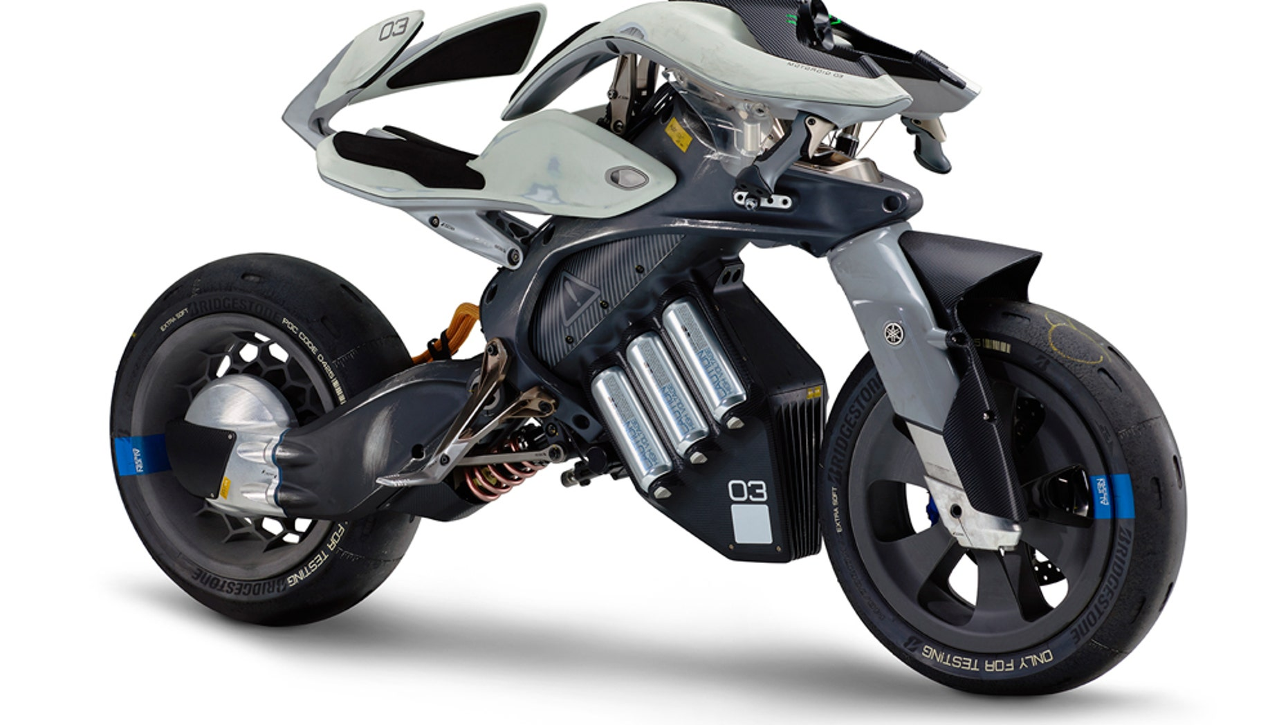 Yamaha Electric Motorcycle >> Yamaha Reveals Wild Electric Motorcycle Concept Fox News