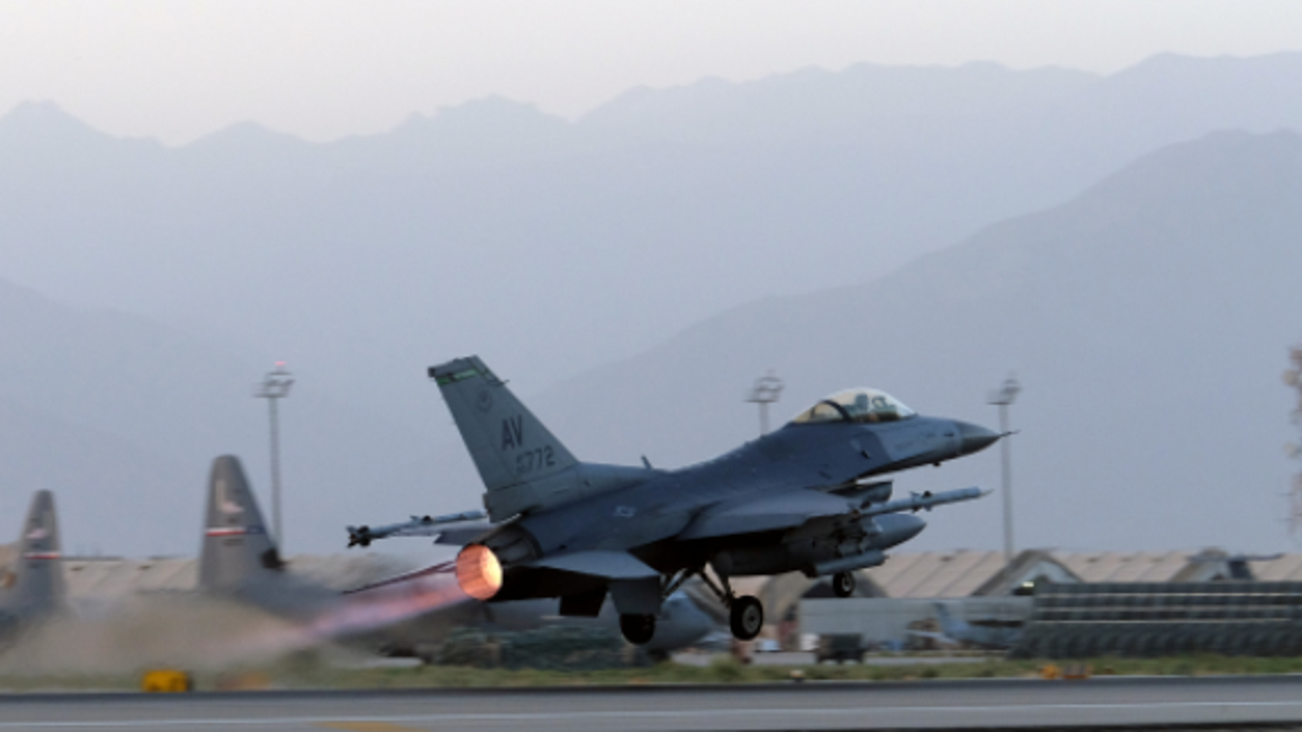 A F-16 Fighting Falcon crashed in Arizona Tuesday, according to the U.S. Air Force.