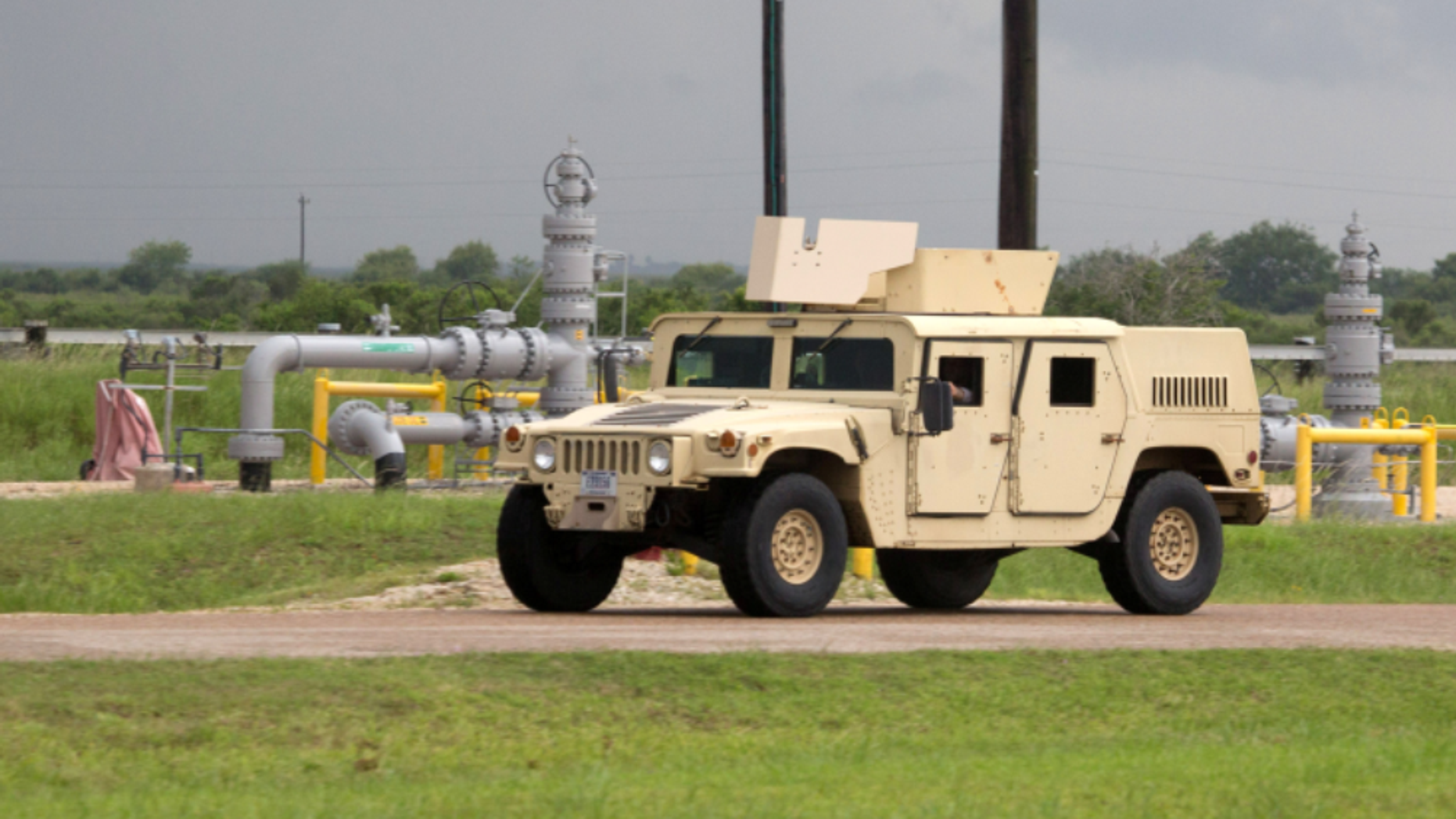 A U.S. Army soldier has been charged after three Humvees were destroyed.