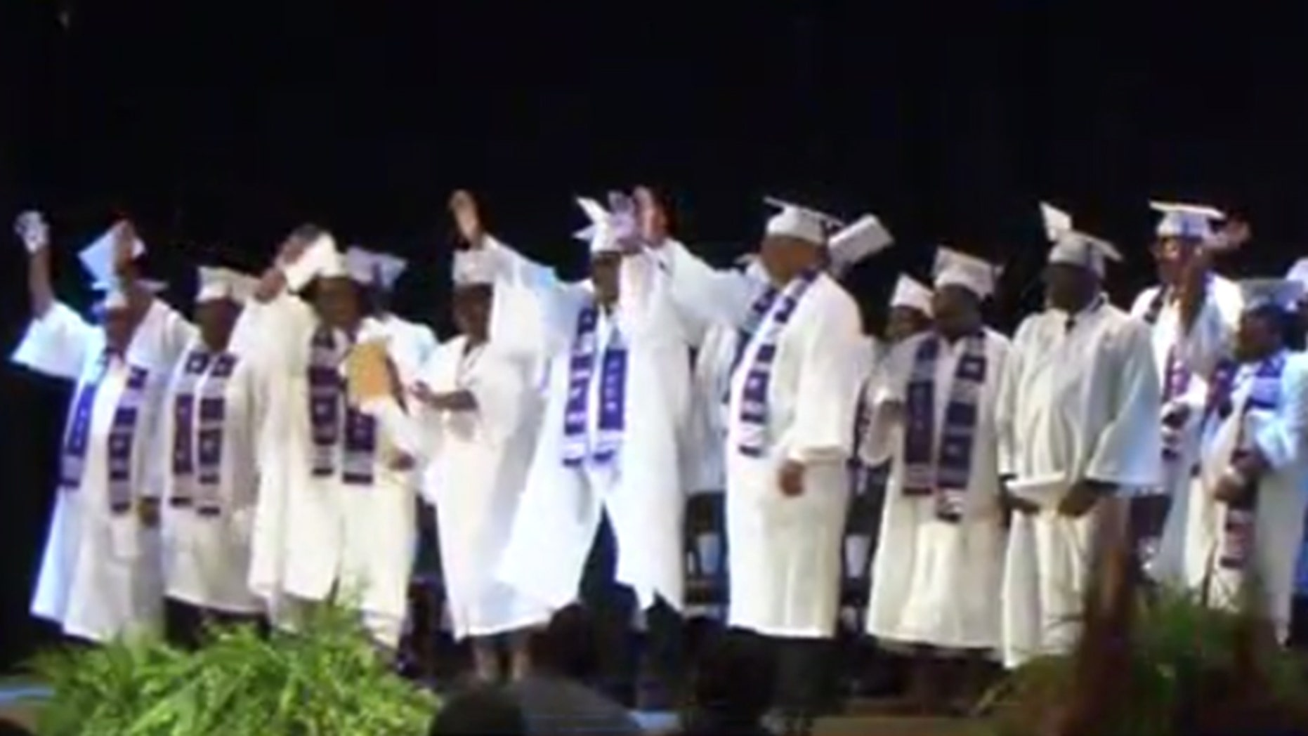 Former students of an all-black school in Georgia's Pike County say the ceremony wouldn't have been possible if it weren't for teachers believing in them for standing up for their rights, Fox 5 Atlanta reported.