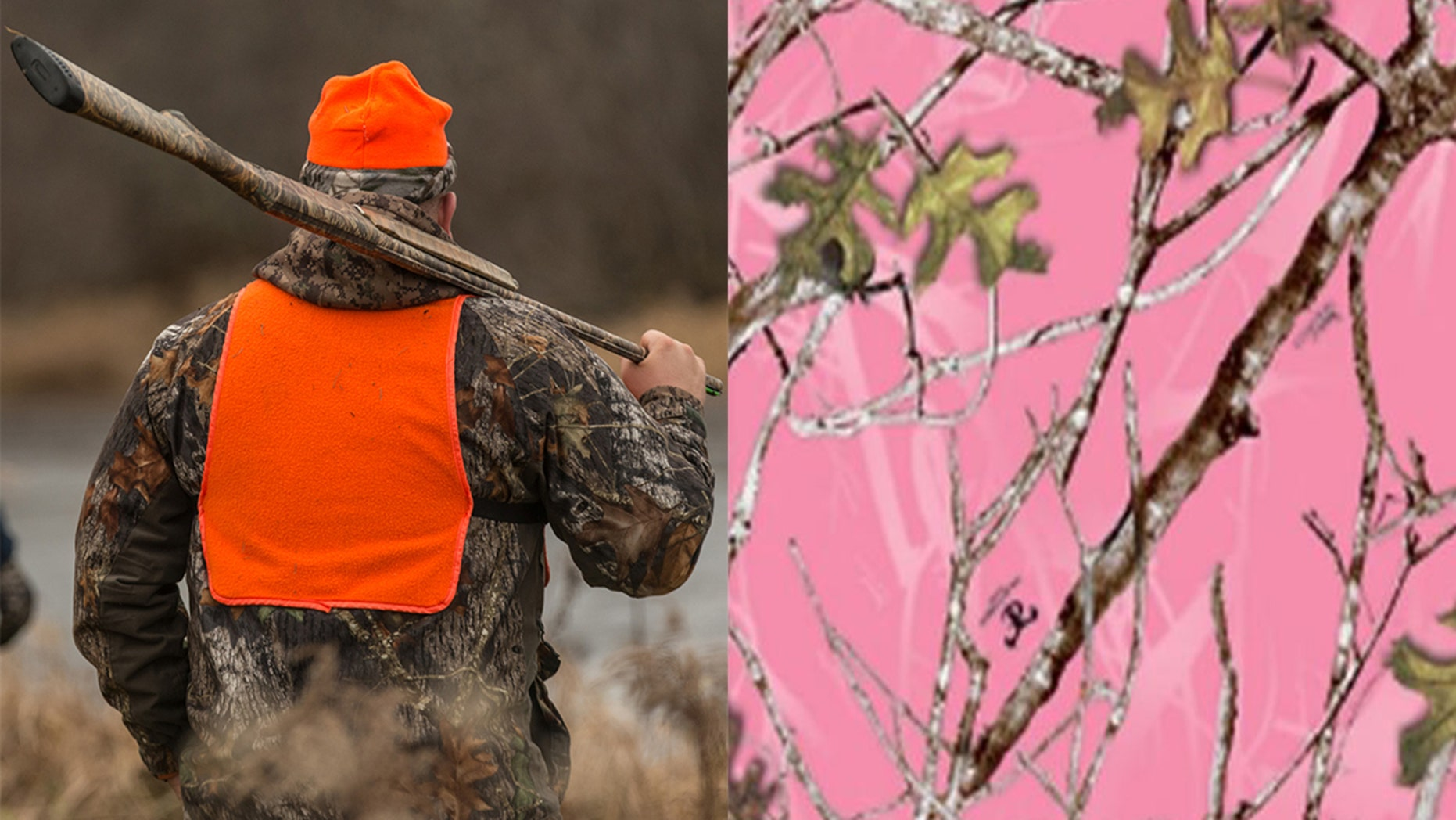 A memo asking for pink to be a legal hunting color has been attacked on social media for its comments about female fashion.