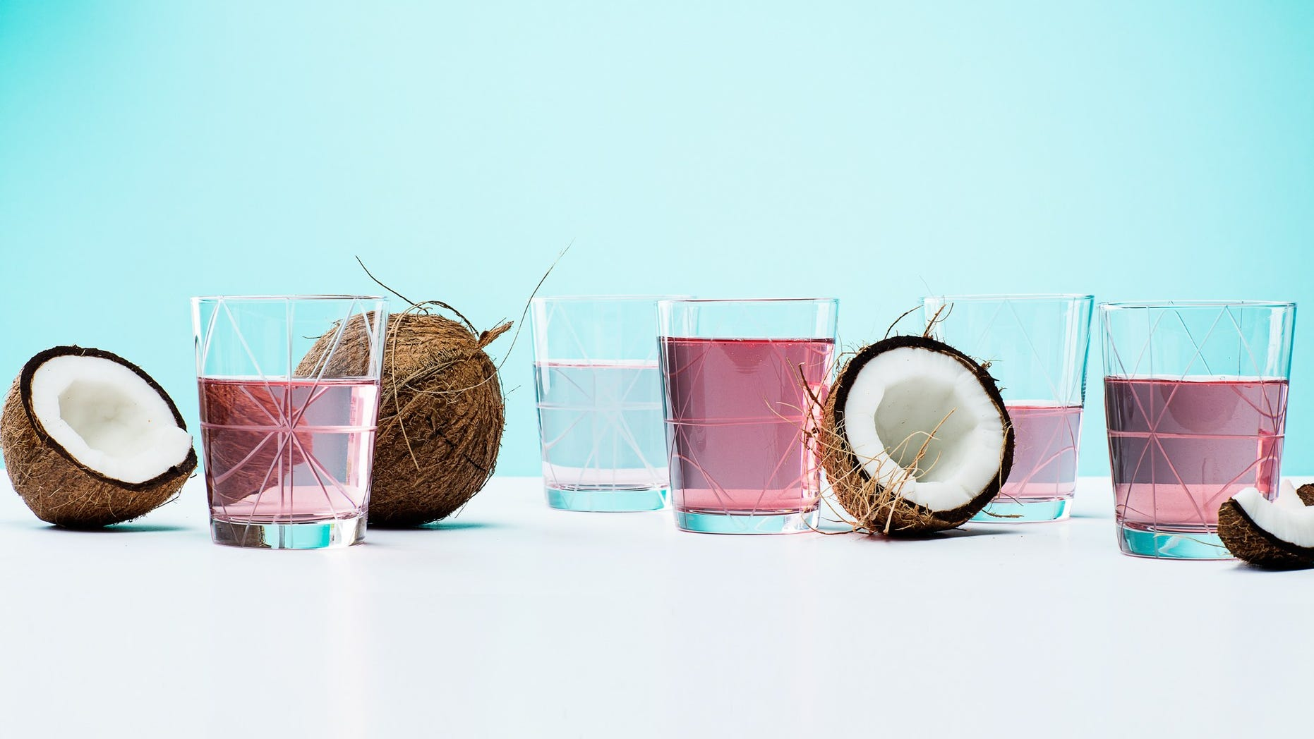 Is pink coconut water as good for you as the cloudy stuff?