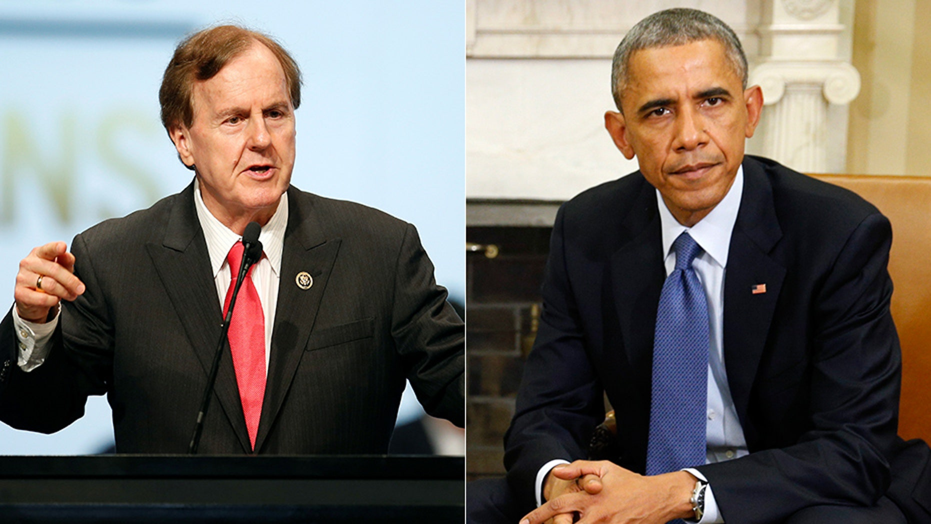 Rep. Robert Pittenger of North Carolina called for an investigation into a report on the Obama administration's handling of an anti-Hezbollah task force.