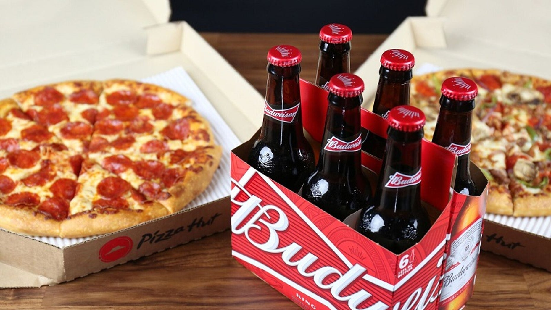 Pizza Hut announced it will be delivering beer and wine to thirsty customers.