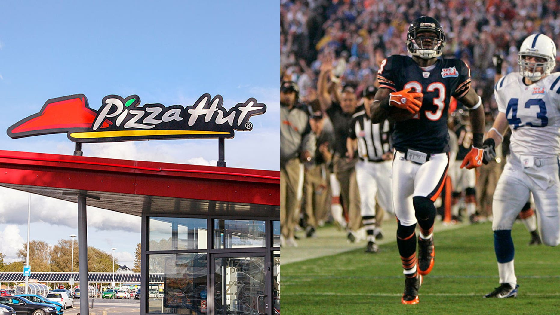 Pizza Hut plans to gift America with free food if any NFL player manages to score a touchdown in the first 14 seconds of this year's Super Bowl, like Devin Hester did at Super Bowl LII.