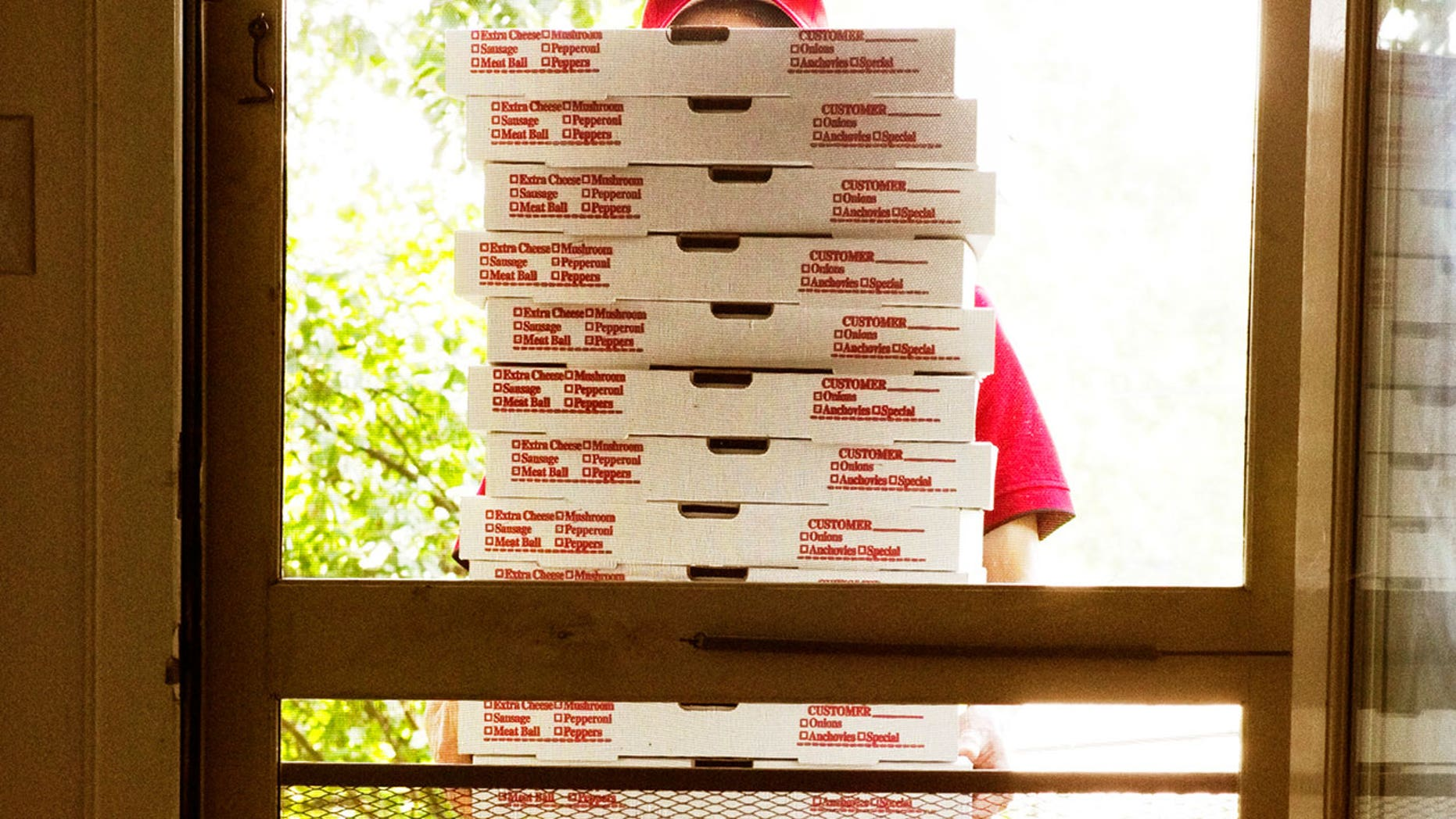 """It's so irritating, I don't even get my work done anymore,"" the lawyer says of the unwanted pizza deliveries."