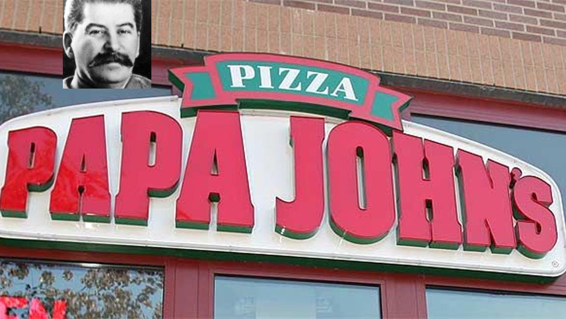 Papa John's Pizza has introduced a Josef Stalin promotion code.