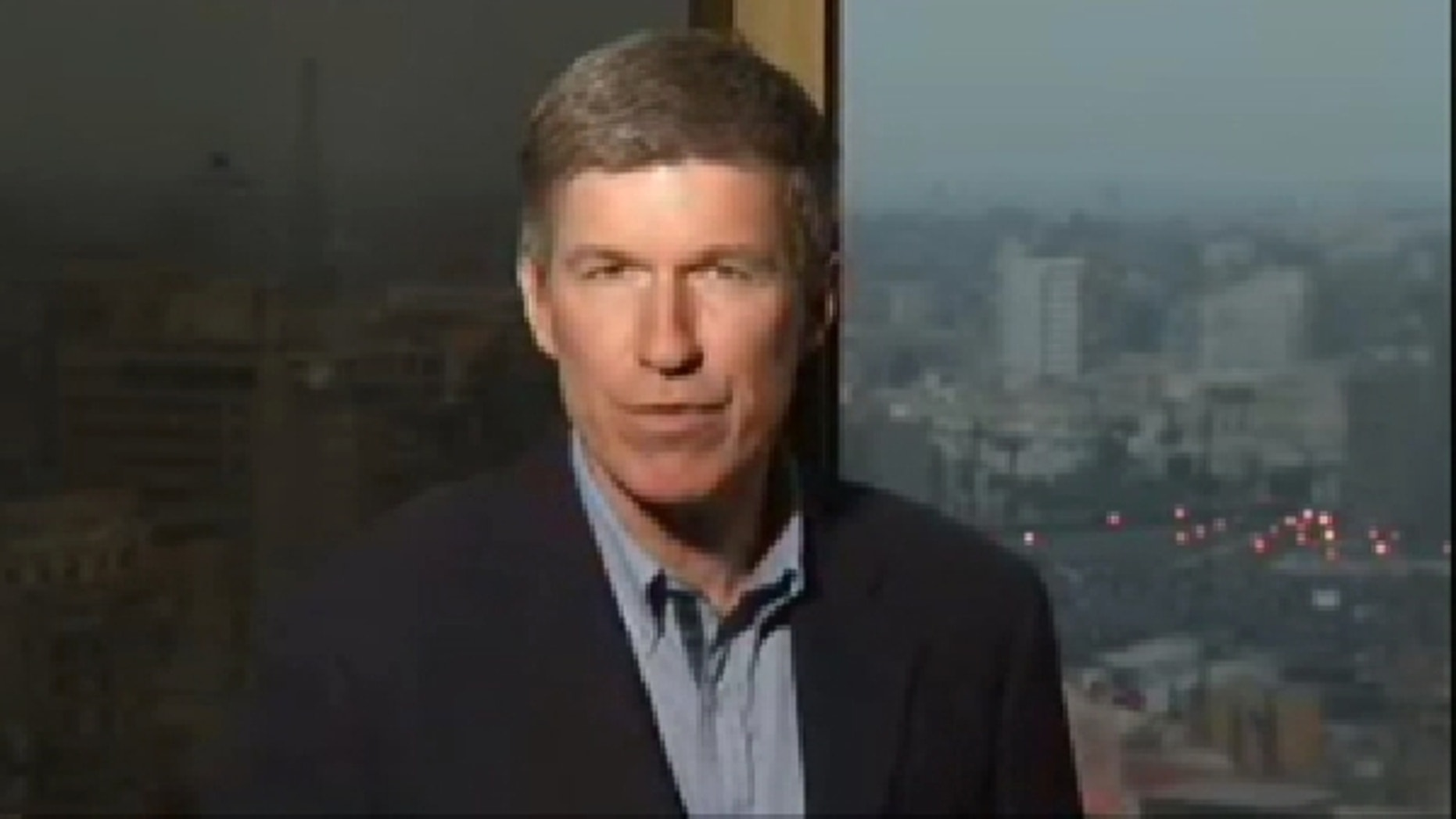 FOX News' Greg Palkot, pictured above, is one of several journalists covering the Egypt crisis who have been attacked or threatened by protesters in Cairo. (FNC)