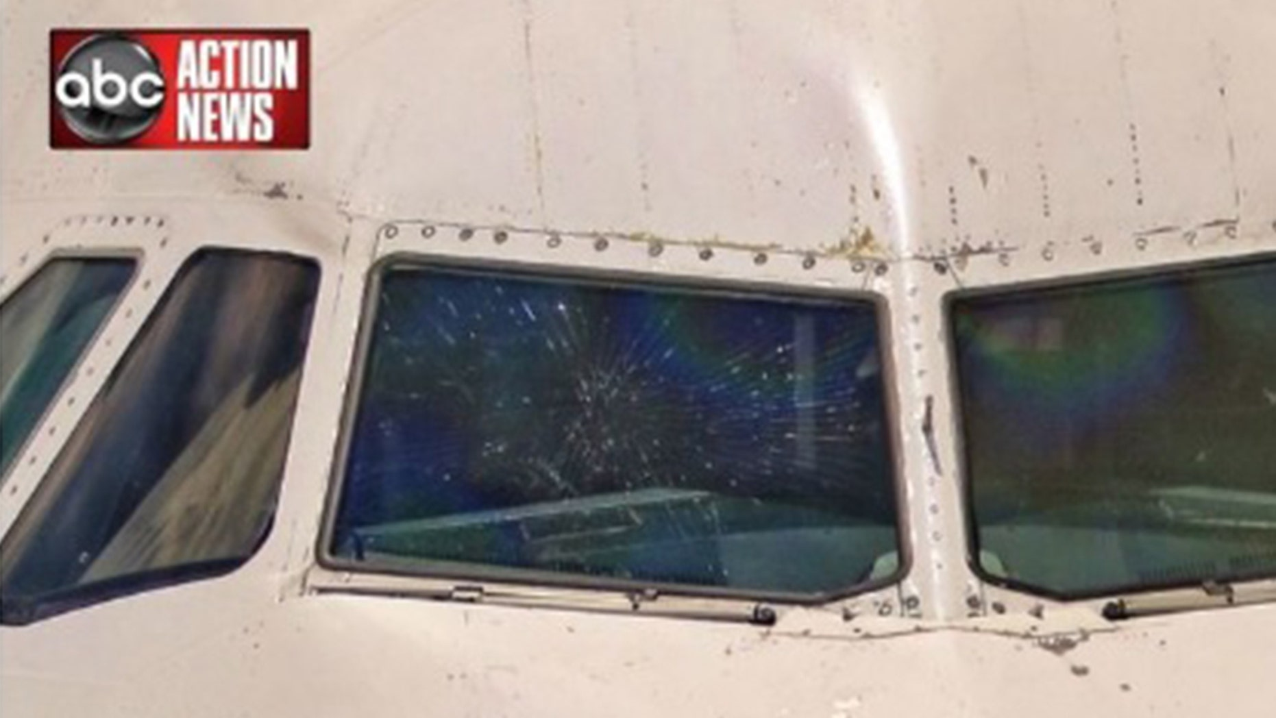 A JetBlue plane made an emergency landing in Fort Lauderdale, Fla. after the cockpit window cracked.