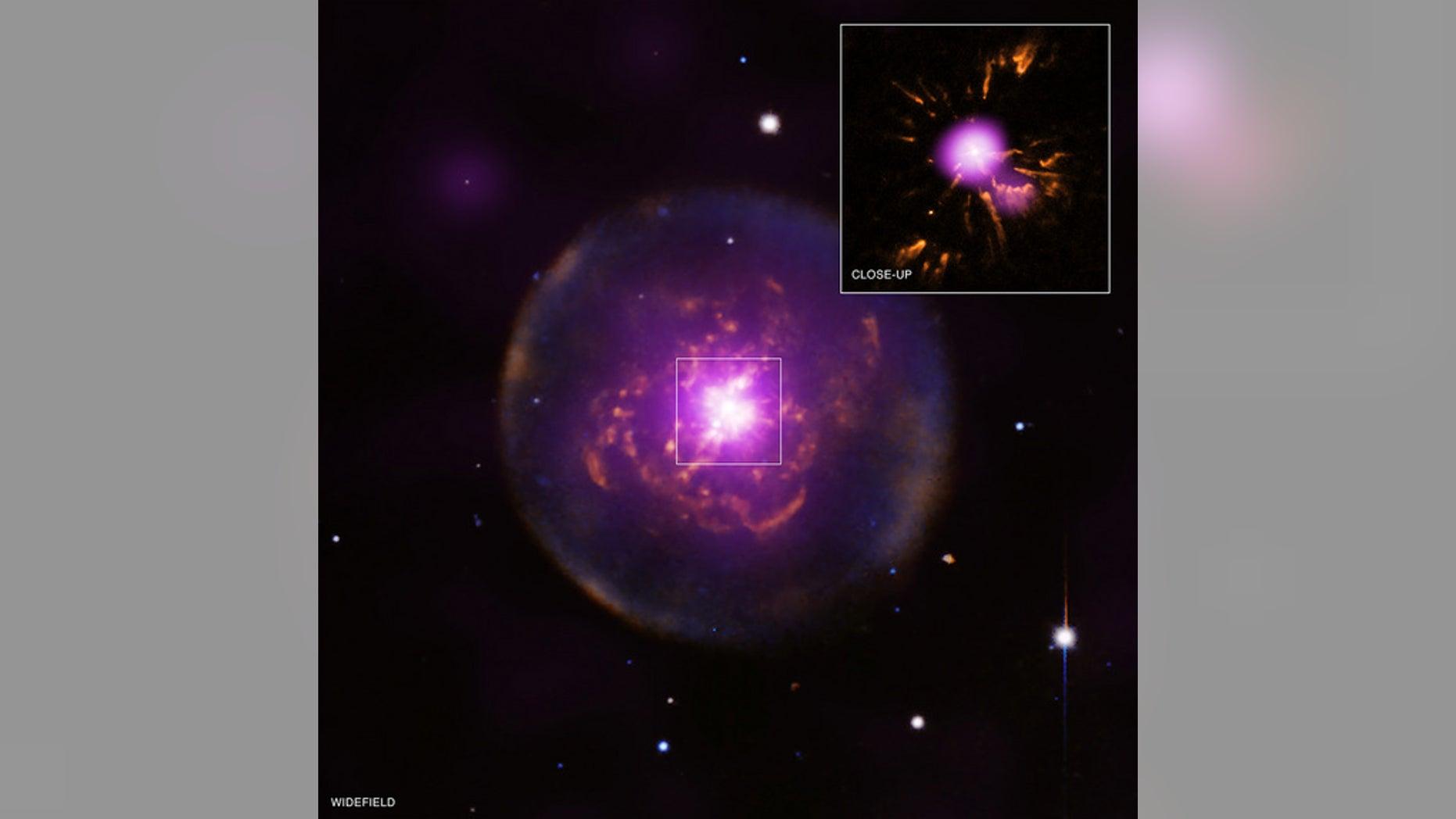 Planetary nebula Abell 30