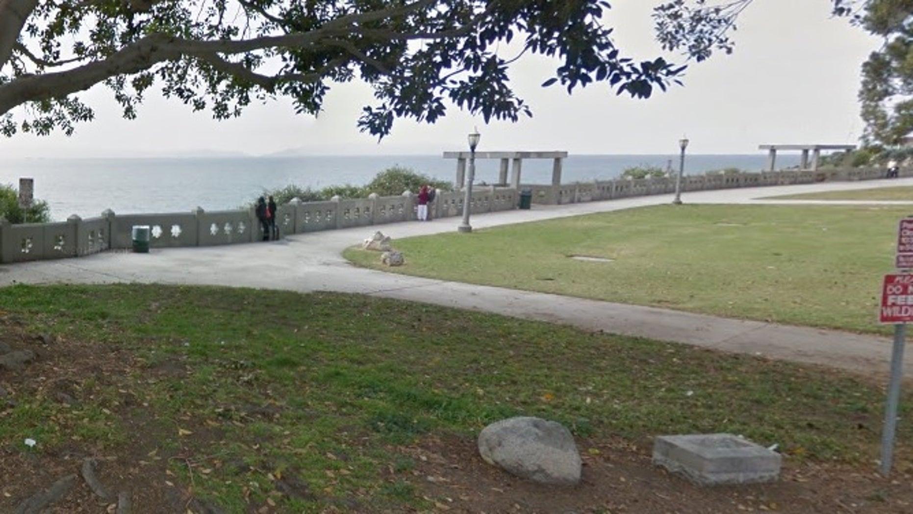 Point Fermin Park.