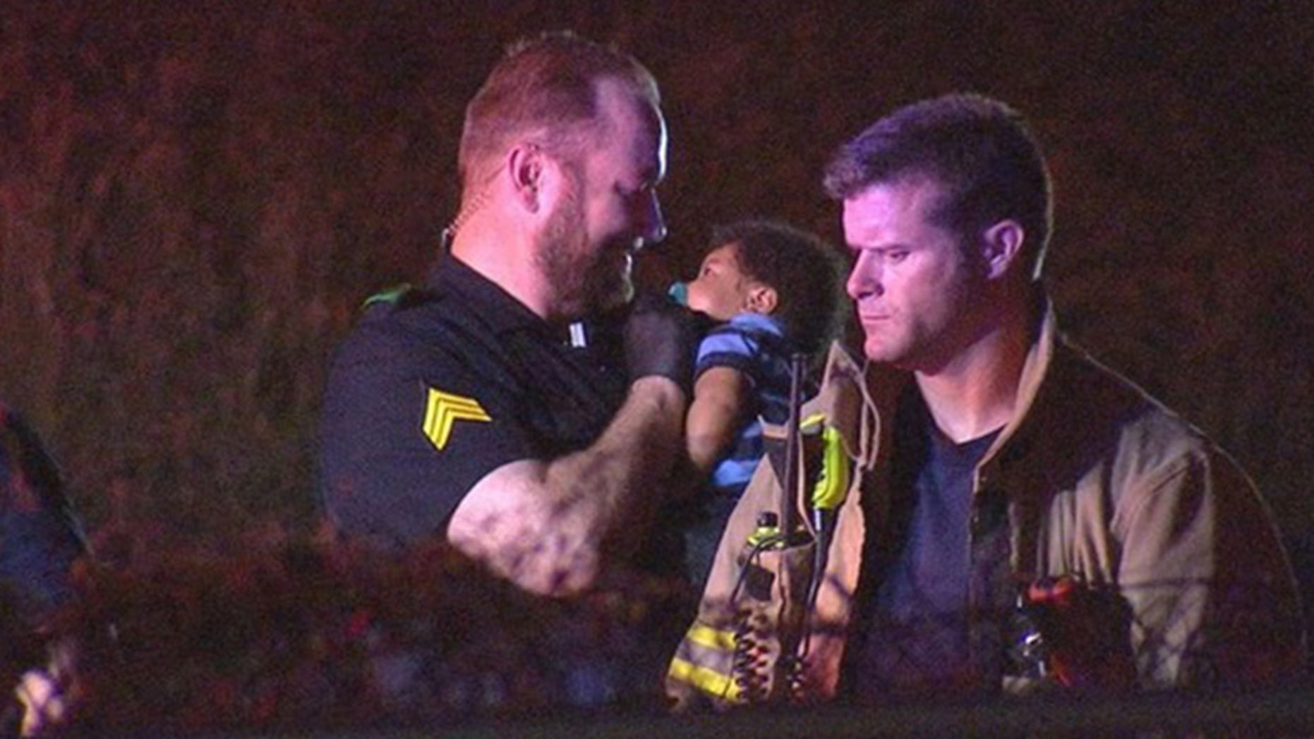 May 27, 2018: Dallas police officer Donald Boice is being praised after photos showed him comforting a 3-month-old infant at the scene of an accident.