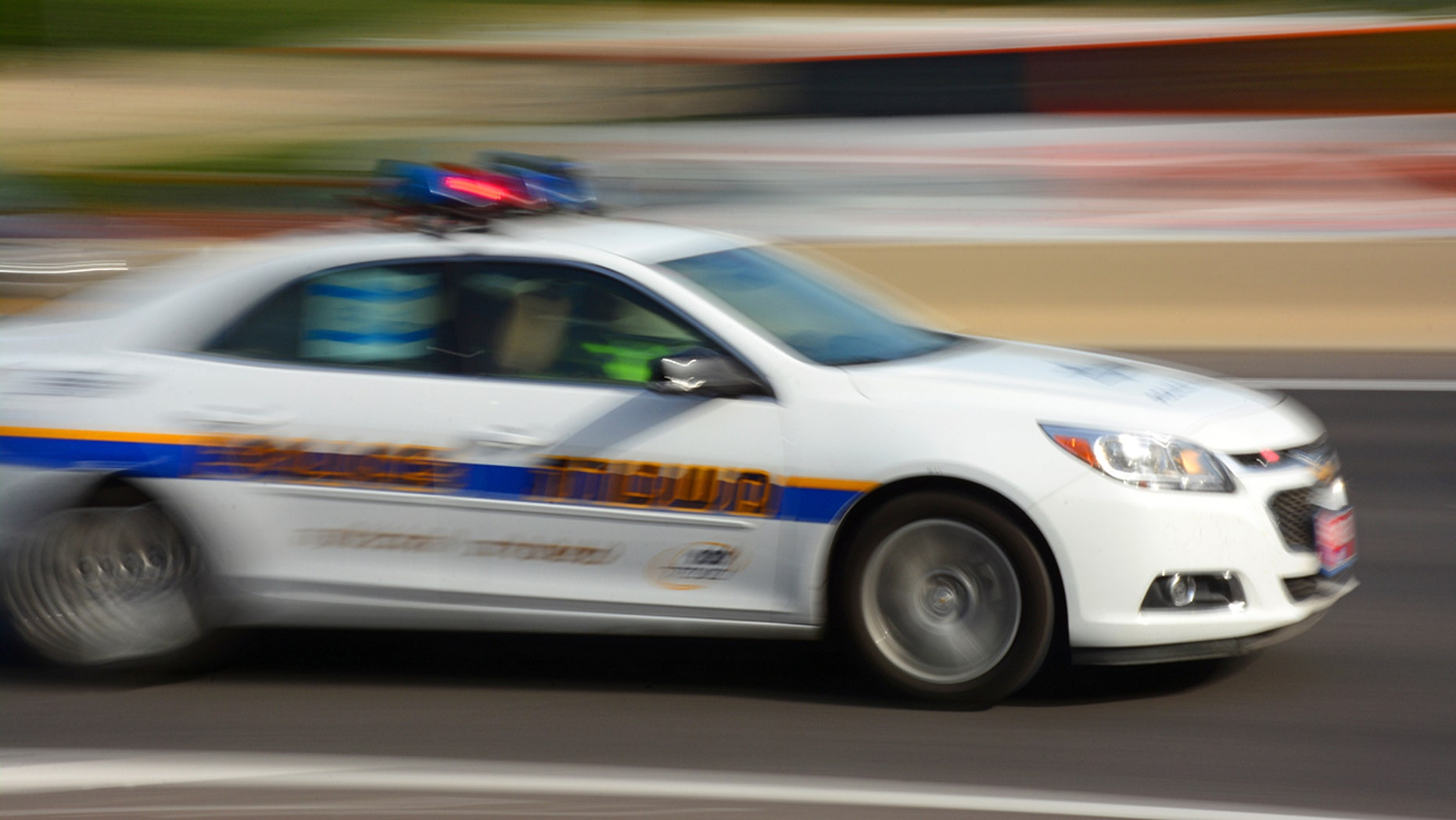 A teenager led police on a chase through Ada County, Idaho, before losing control of her vehicle.