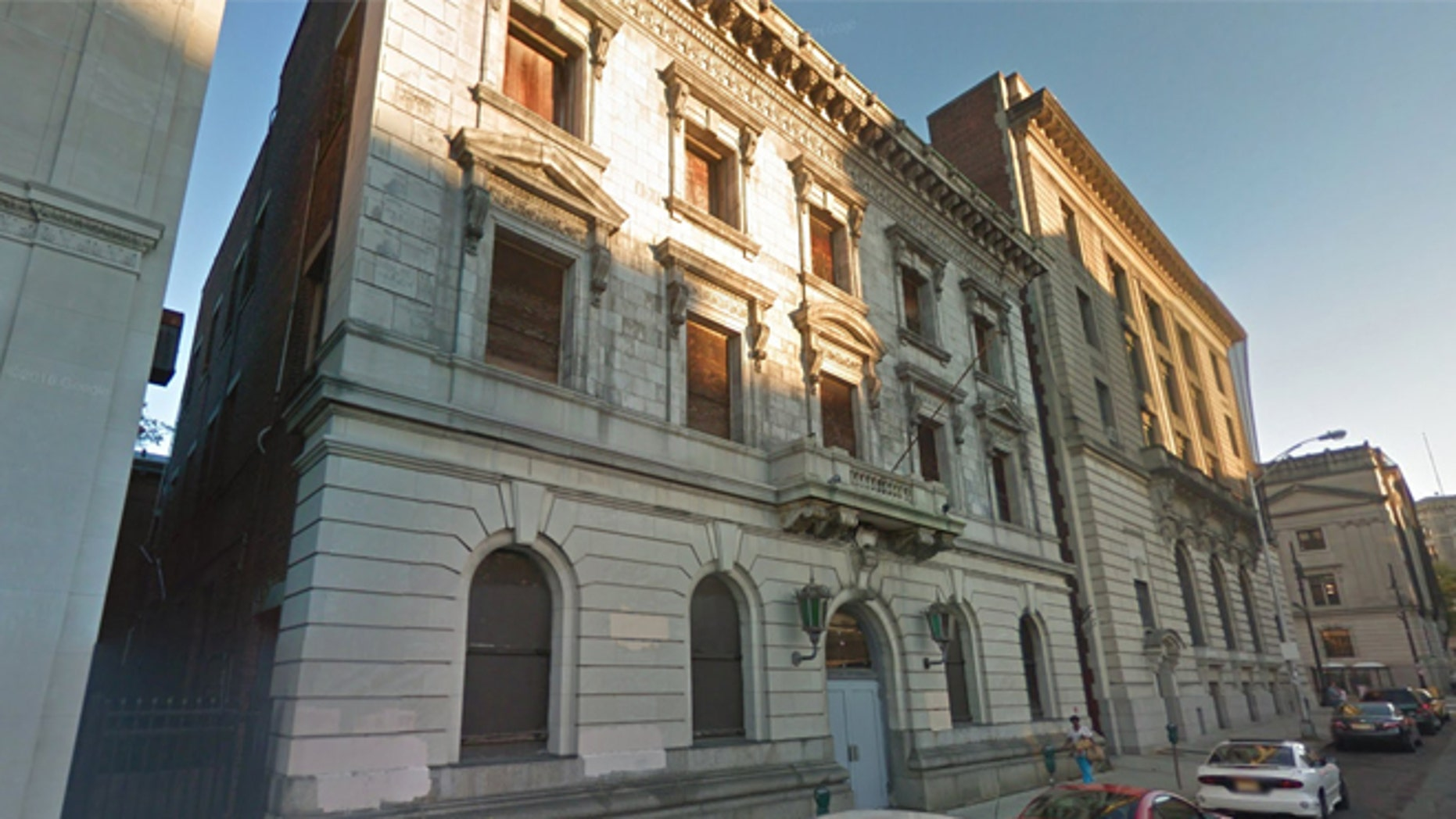 The former headquarters of the Paterson Police Department.