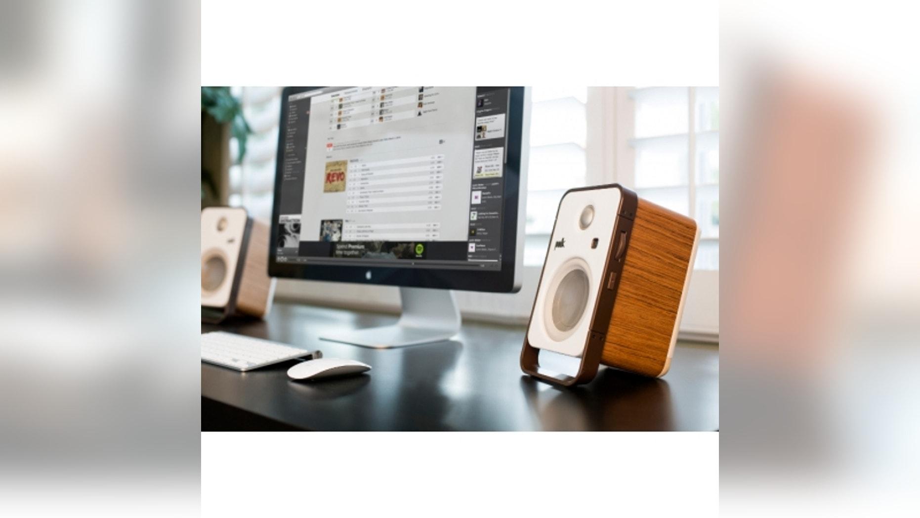Polk Hampden speakers.