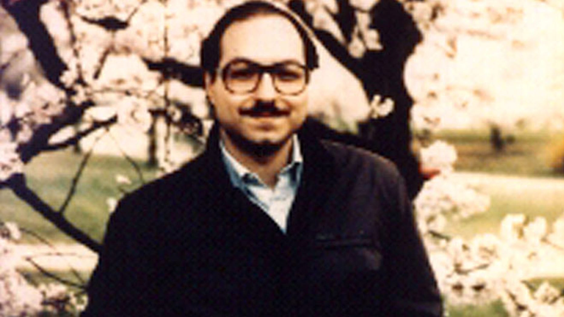Undated photo of Jonathan Pollard prior to his arrest.