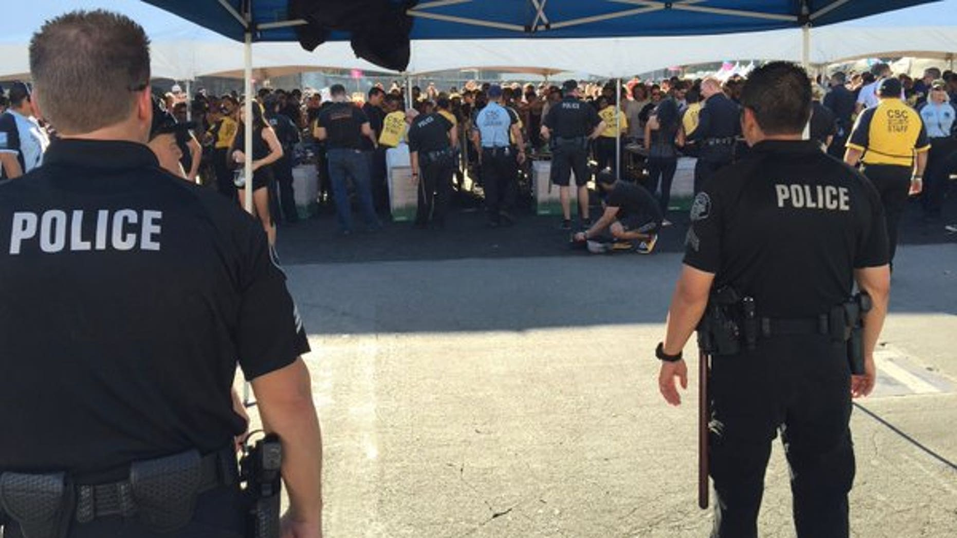 Police made hundreds of arrests at Southern California electronic music festivals over the weekend.