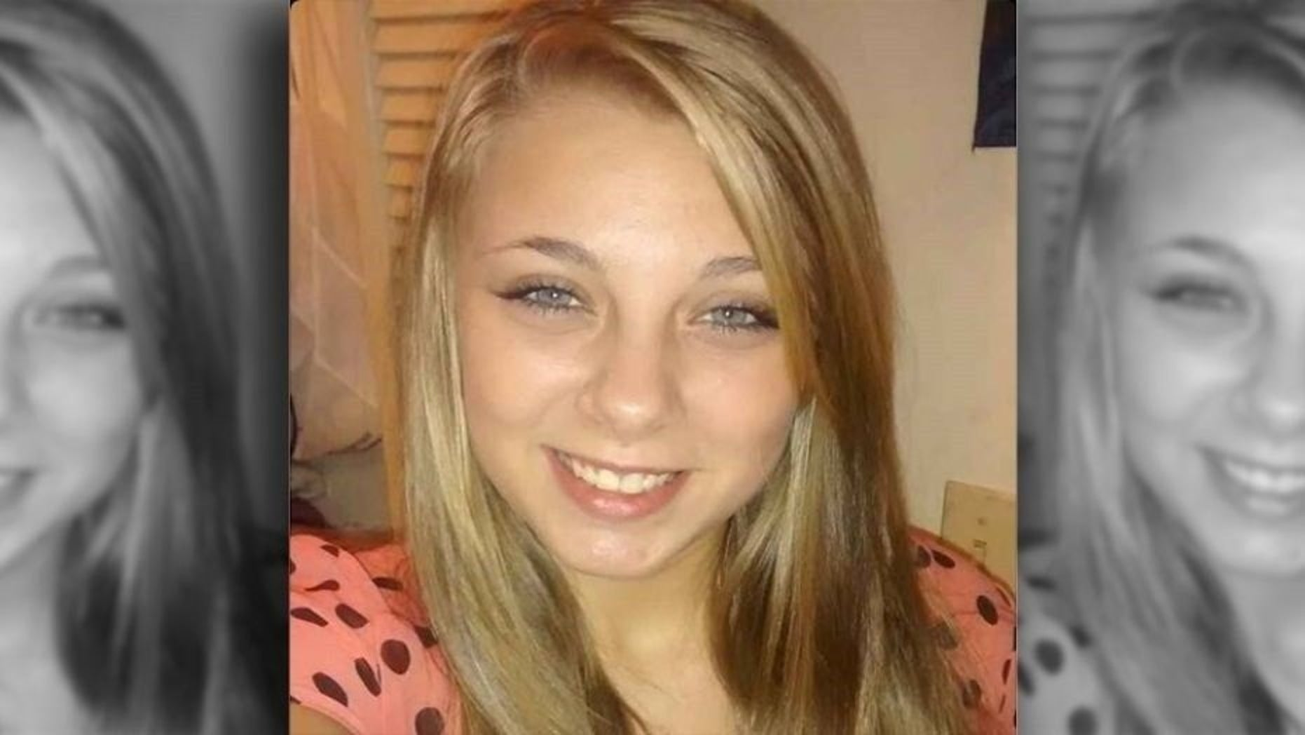 Kaylee Muthart, 20, is blind after she gouged her eyes out while hallucinating in February.