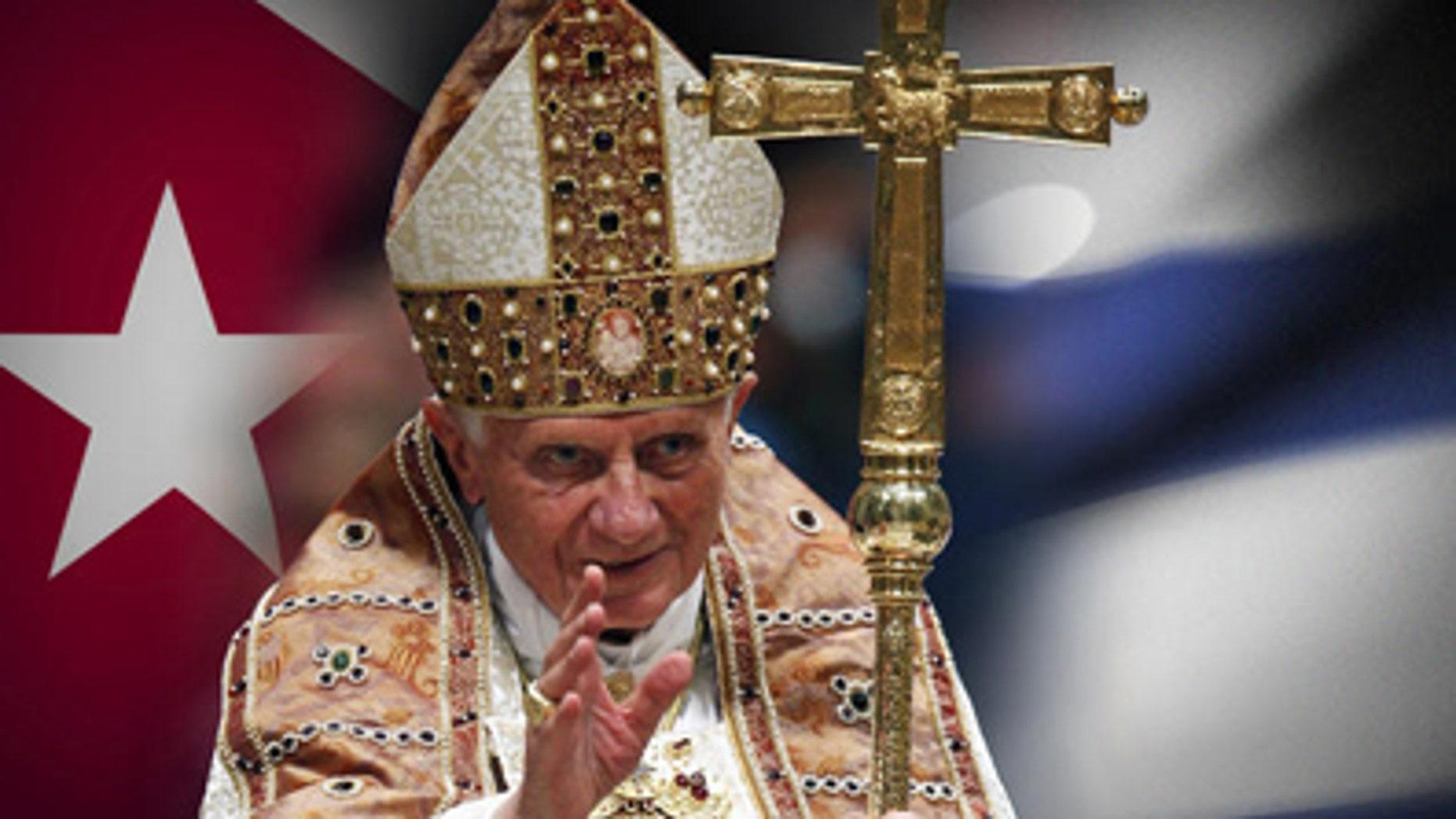 File -- Pope Benedict XVI