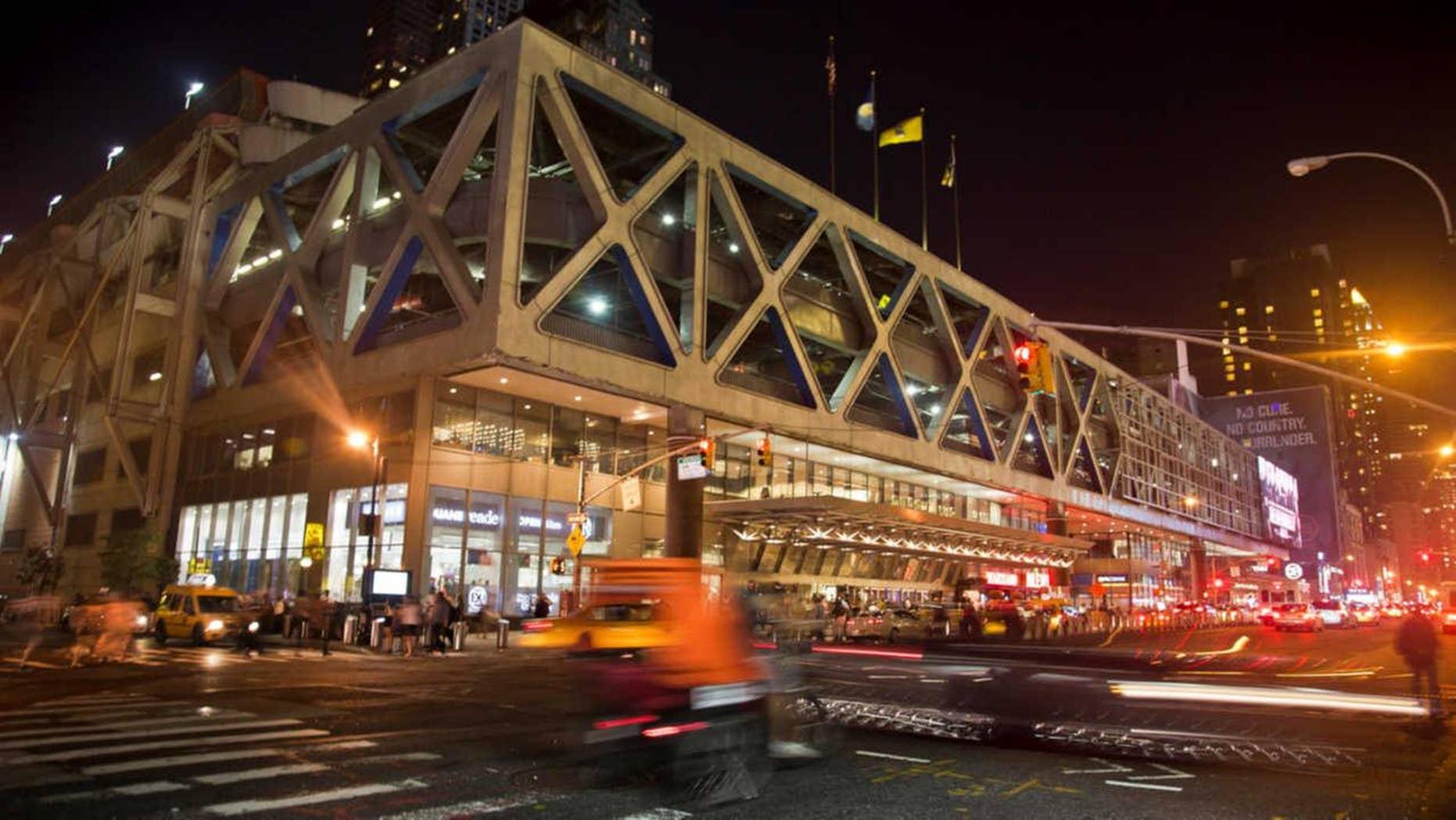 New York's Port Authority Bus Terminal.