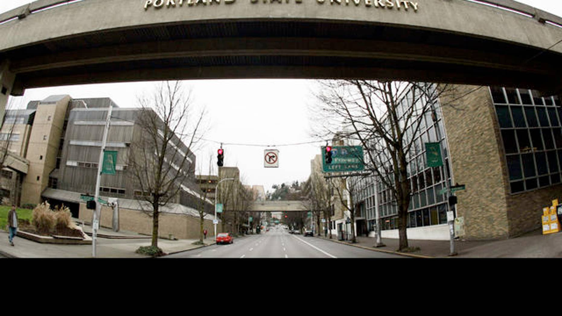 Students at Portland State University lobbied state lawmakers for the new college payment plan. (AP)
