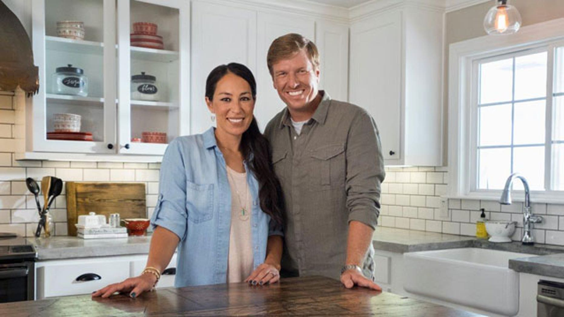"""Fixer Upper"""" couple Chip and Joanna Gaines say, contrary to reports, they are not moving from their Waco, Texas, home."""