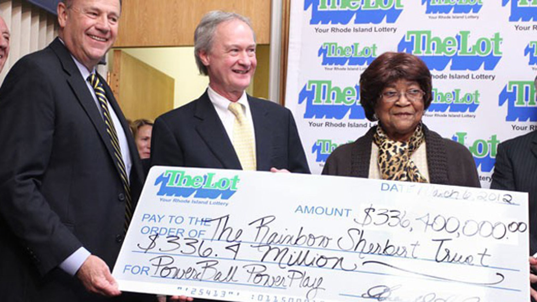 Louise White won February's $336.4 million Powerball jackpot, sleeping with the winning ticket in her Bible until coming forward to claim the sixth-largest U.S. prize, a family representative said. (AP)