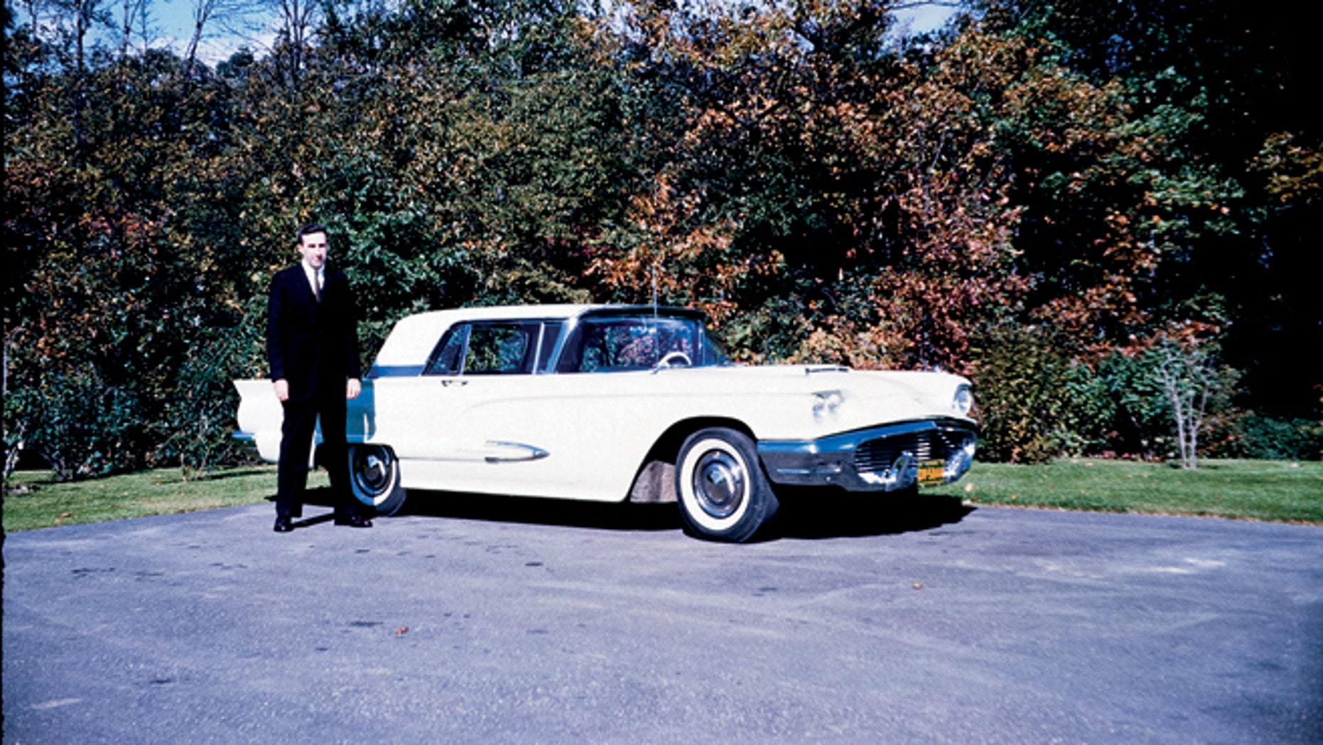 Dave Power with a 59' Thunderbird.