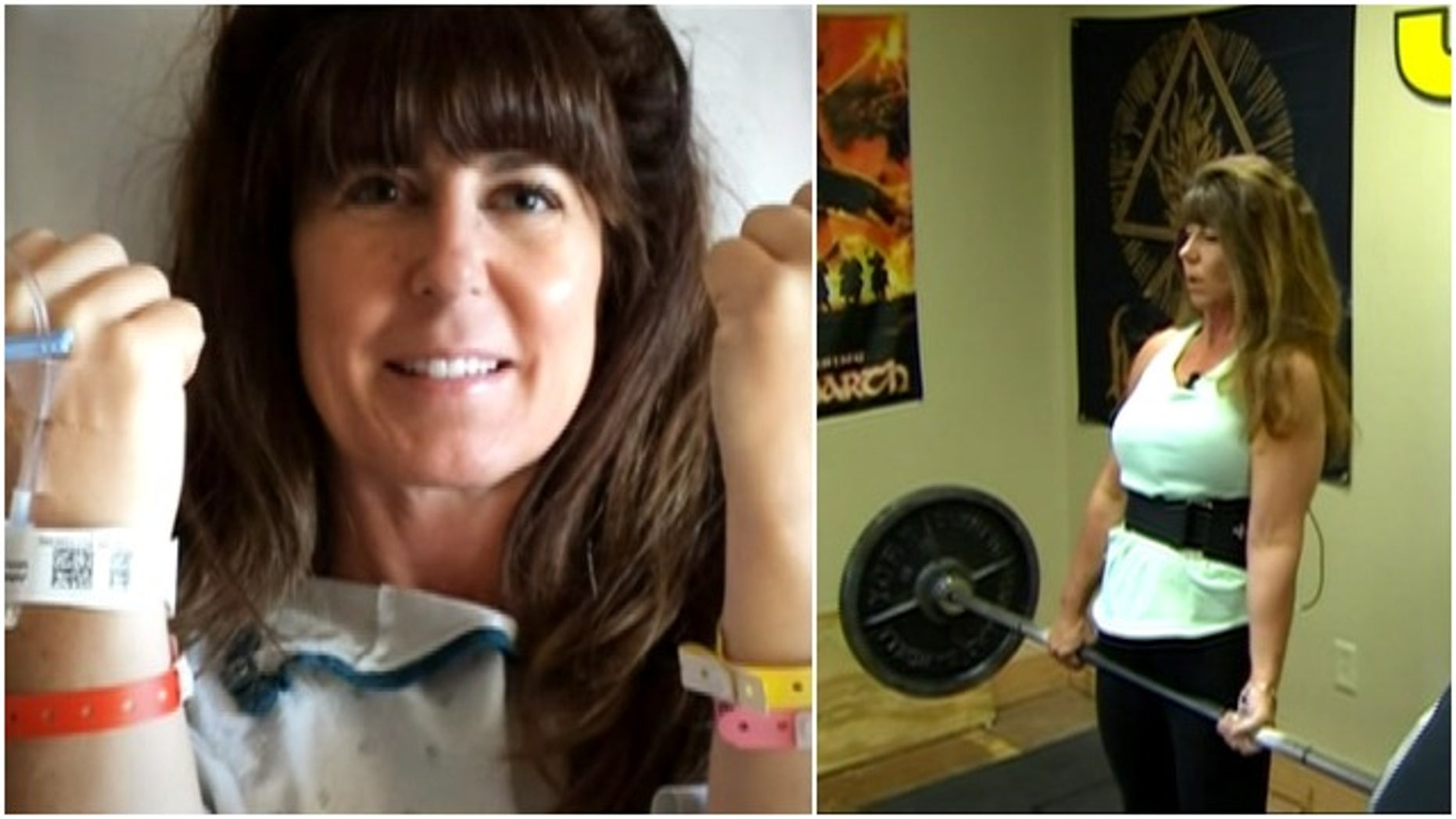 Lisa Johnson beat cancer and is now focused on winning weightlifting competitions