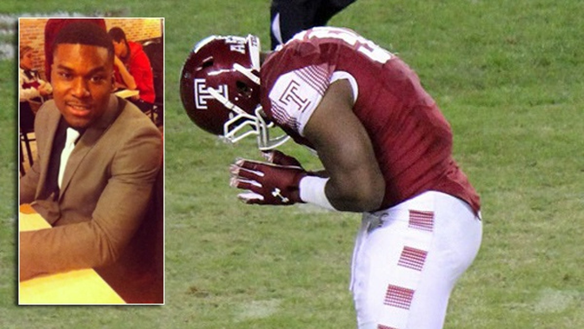 Praise Martin-Oguike, a Nigerian-born son of a New Jersey minister, was kicked off the Temple Owls football team and out of school for nearly two years after a woman accused him of assaulting her in a dorm room.