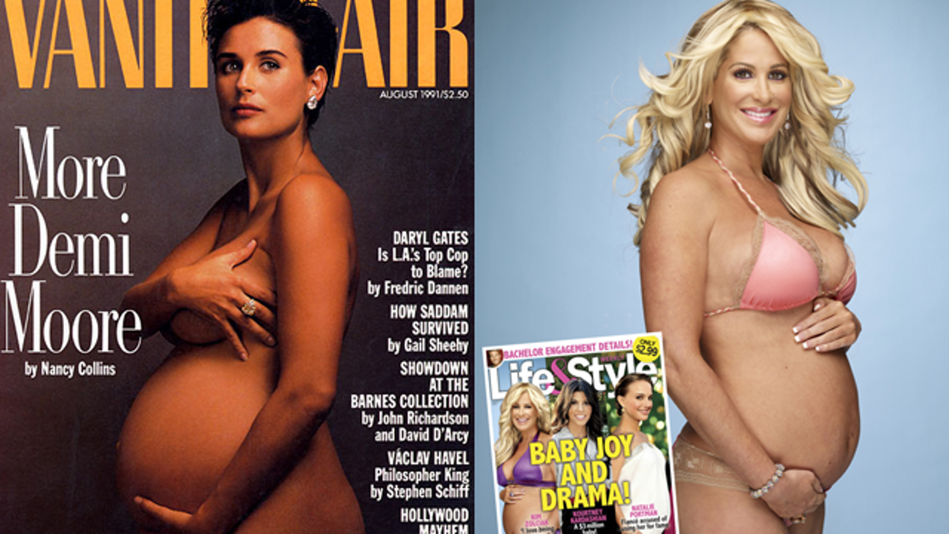 We have gond from this, to this. (Vanity Fair / Life & Style.)