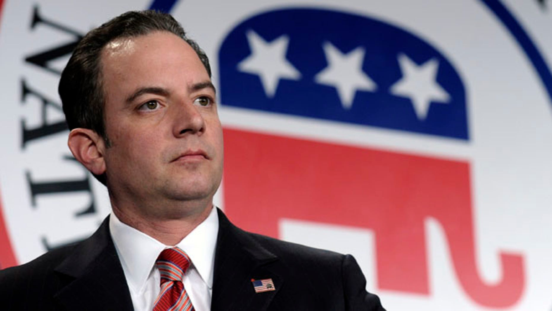 Jan. 24, 2014: Republican National Committee chairman Reince Priebus is seen at the RNC winter meeting in Washington.