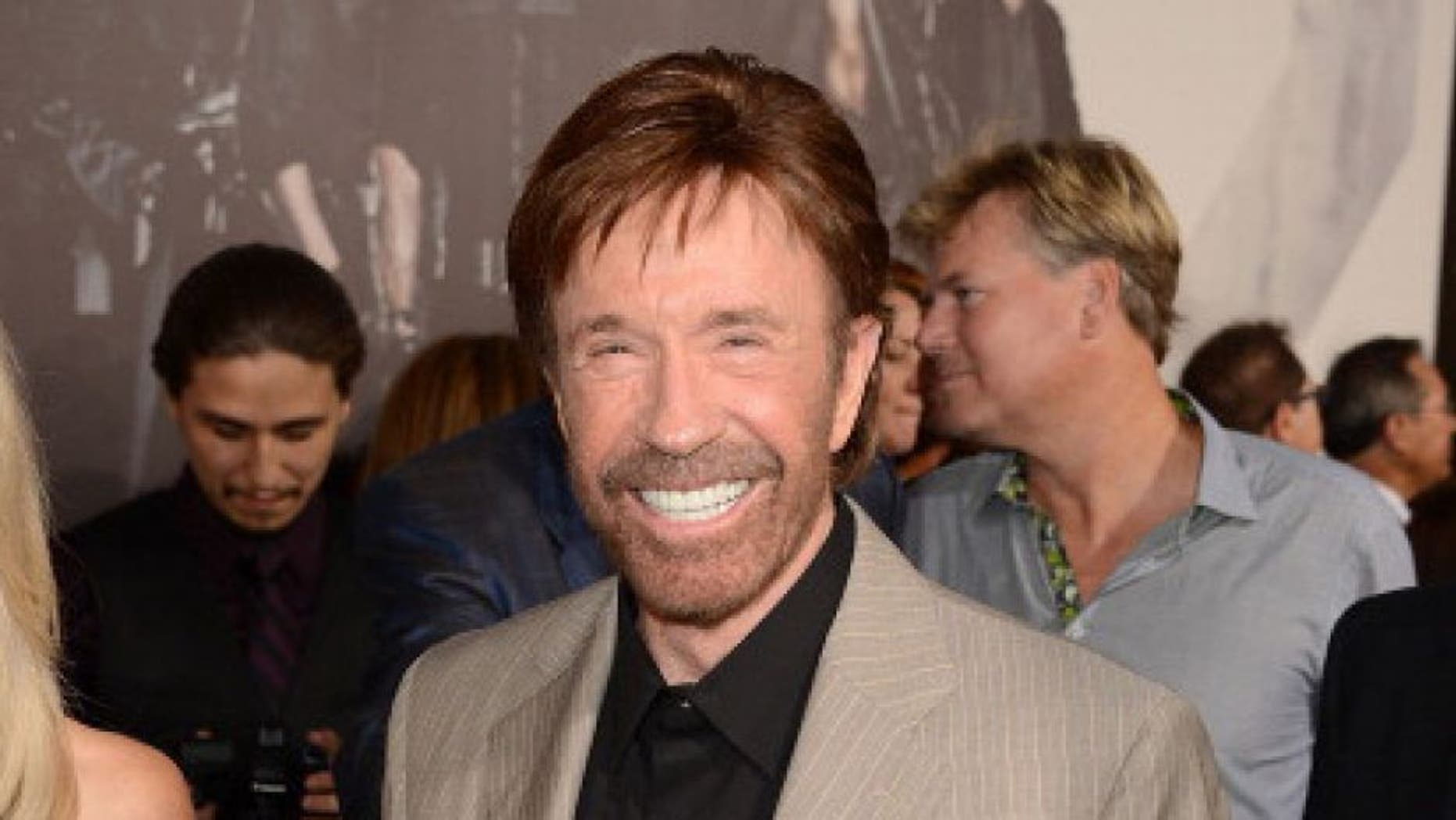 Chuck Norris to introduce drivers prior to NASCAR playoff race at