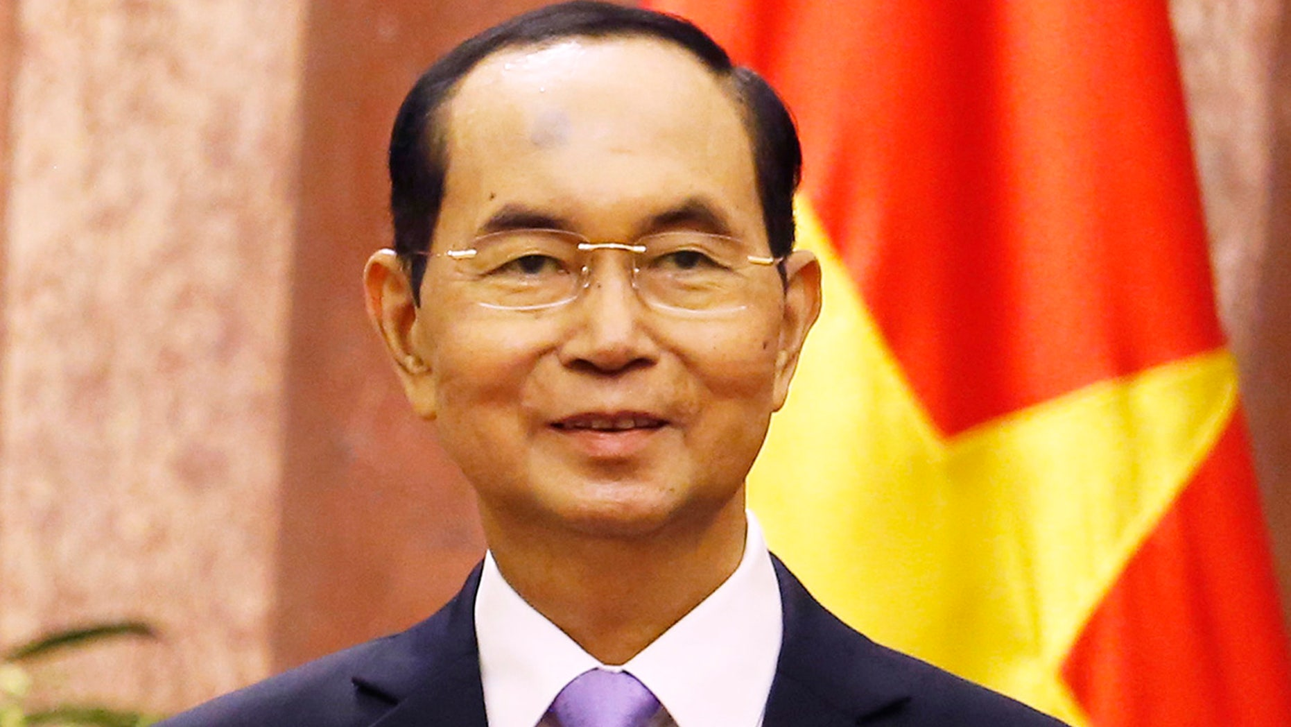 Official media say Vietnamese President Tran Dai Quang has died at age 61 due to illness on Friday.