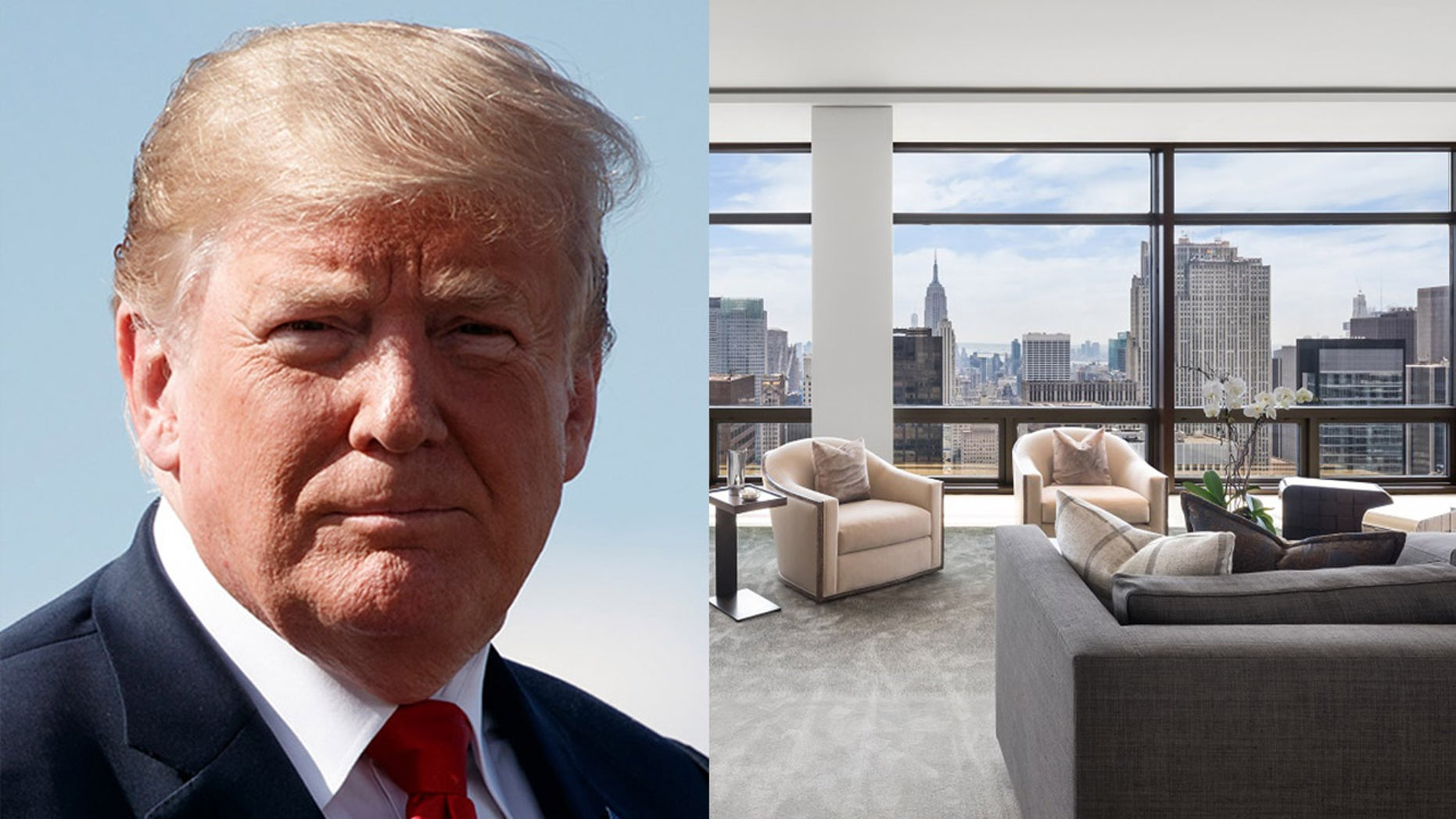 """The sale could prove to be a """"huge security headache"""" as it directly adjoins with President Trump's apartment."""