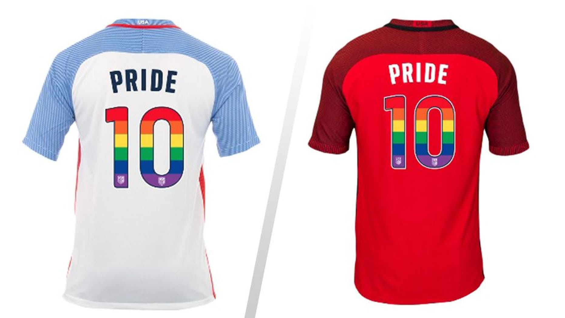 USMNT and USWNT players will wear rainbow jerseys for gay pride month 3b9e1e7b6