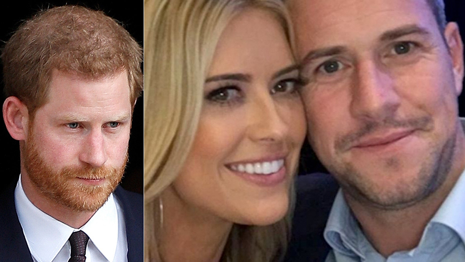 "British TV host Ant Anstead (right) said he texted Prince Harry to get some much-needed advice on dating an American like ""Flip or Flop"" star Christina El Moussa."