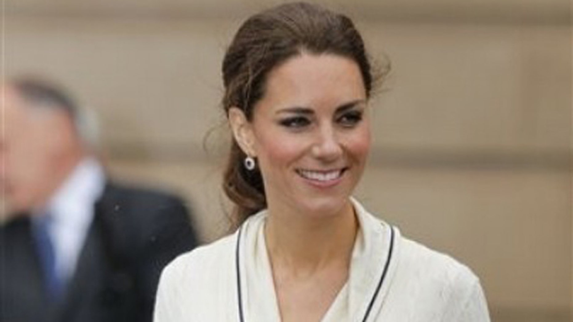 Kate, the Duchess of Cambridge, attends at a ceremony at Province House in Charlottetown on Prince Edward Island as part of their Royal Tour of Canada, Monday, July 4, 2011. (AP Photo/Robert F. Bukaty)