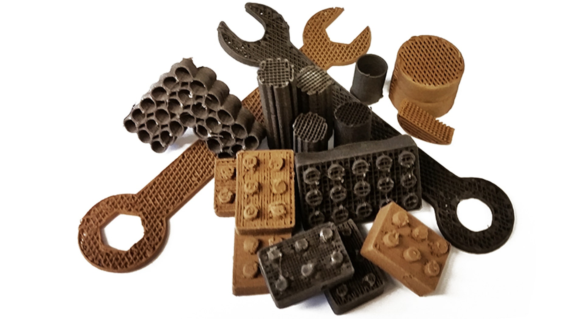 A new method has used simulated Martian and lunar dust to 3D print flexible, tough rubber tools. The method could one day be used by Martian colonists to print their own tools using local materials on the Red Planet.