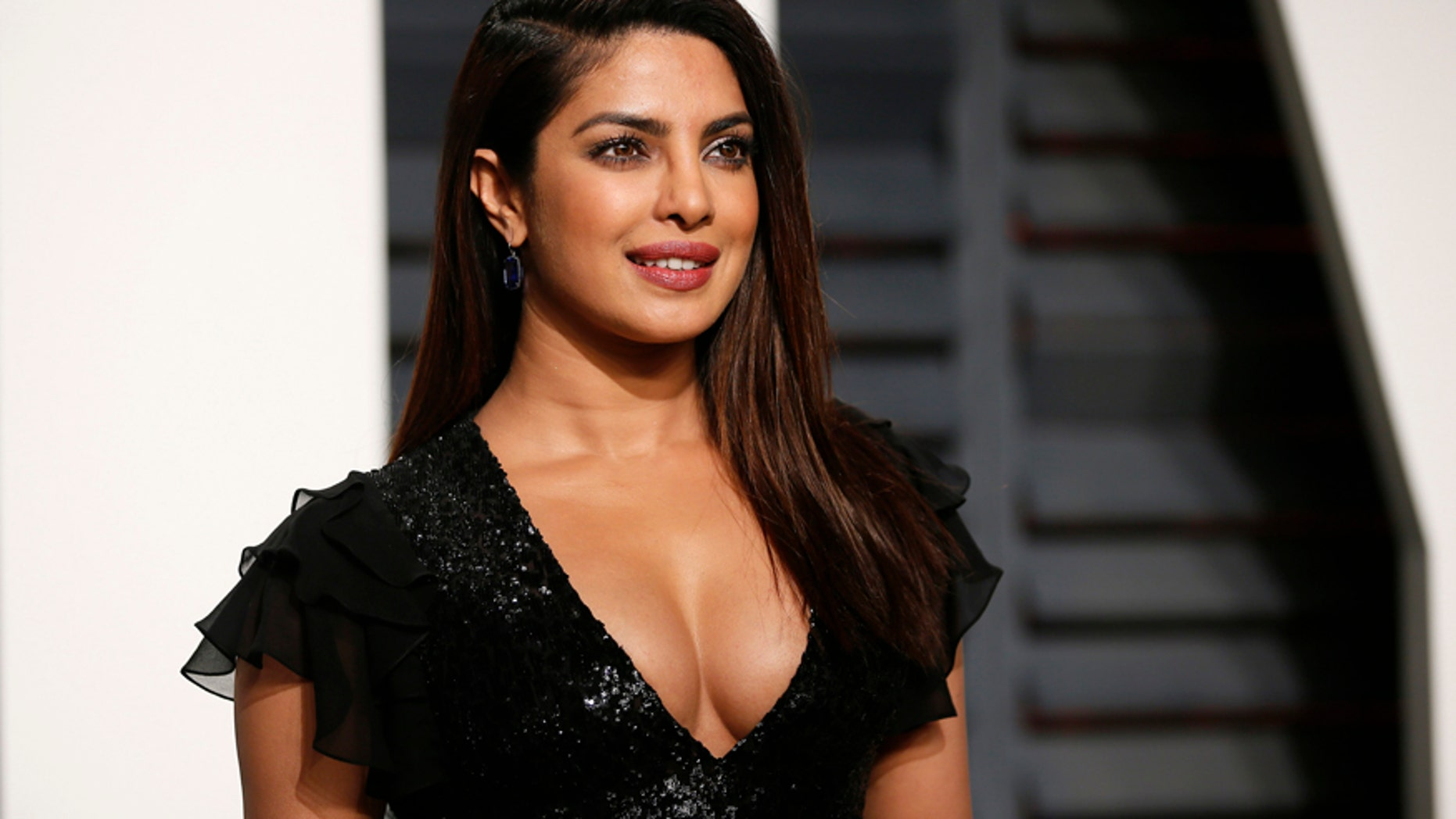 Actress Priyanka Chopra arrives at the 89th Academy Awards' Oscars Vanity Fair Party in Beverly Hills, California on February, 27, 2017.