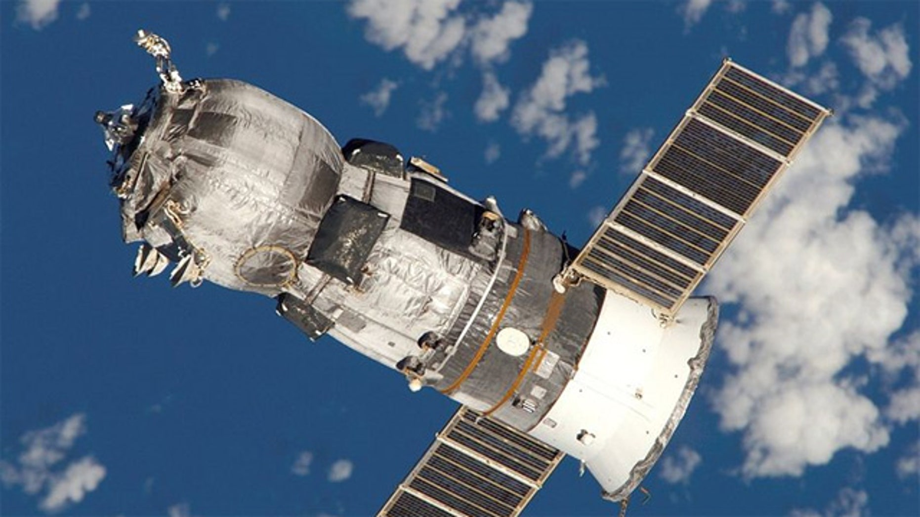 The Progress is a Russian expendable freighter spacecraft used to supply the International Space Station.