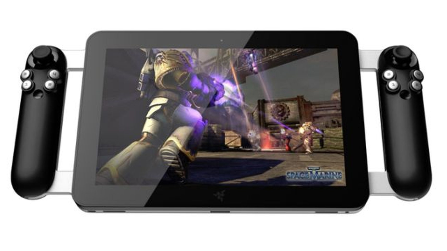 Razer's crowdsourced gaming tablet.