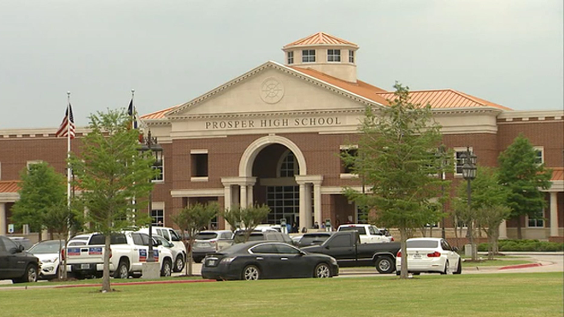 Students will now have to pass a breathalyzer test to get into Saturday's prom at Prosper High School.