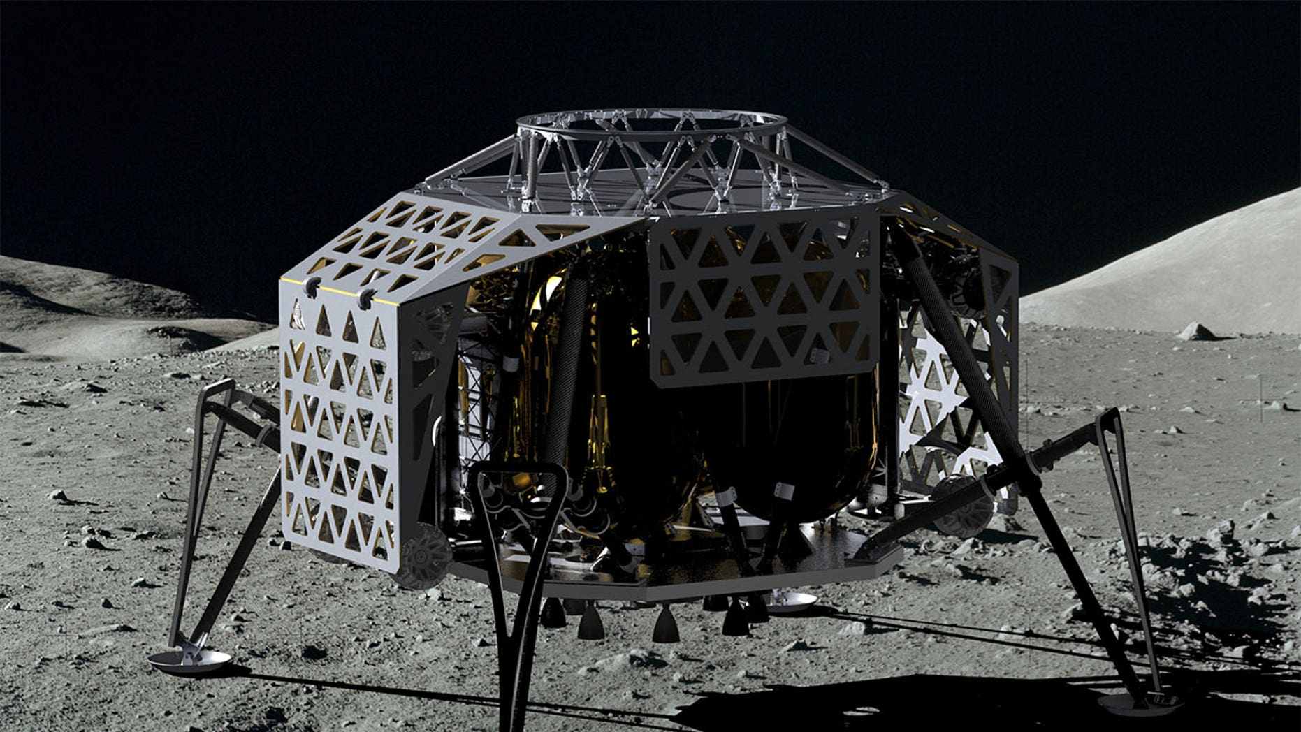 PTScientists' Autonomous Landing and Navigation Module, or ALINA, lunar lander.