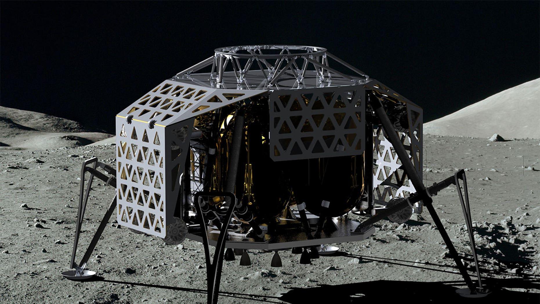 PTScientists' Autonomous Landing and Navigation Module, or ALINA, lunar lander.