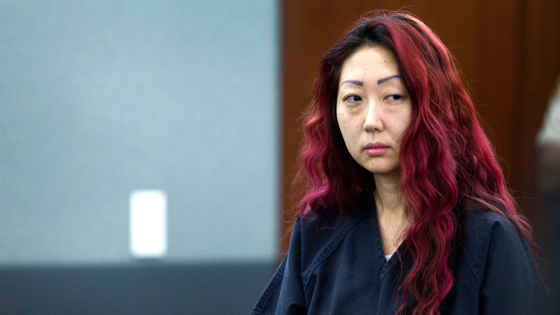 March 12, 2014: pet shop owner Gloria Lee appears in court at the Regional Justice Center in Las Vegas.