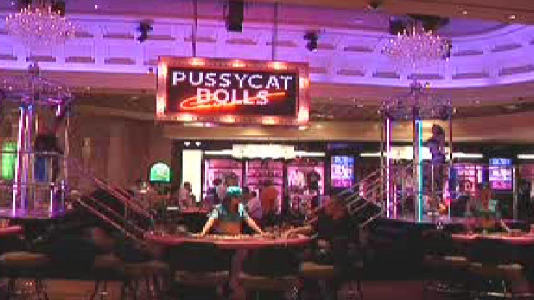 Caesars' Pussycat Dolls party pit.