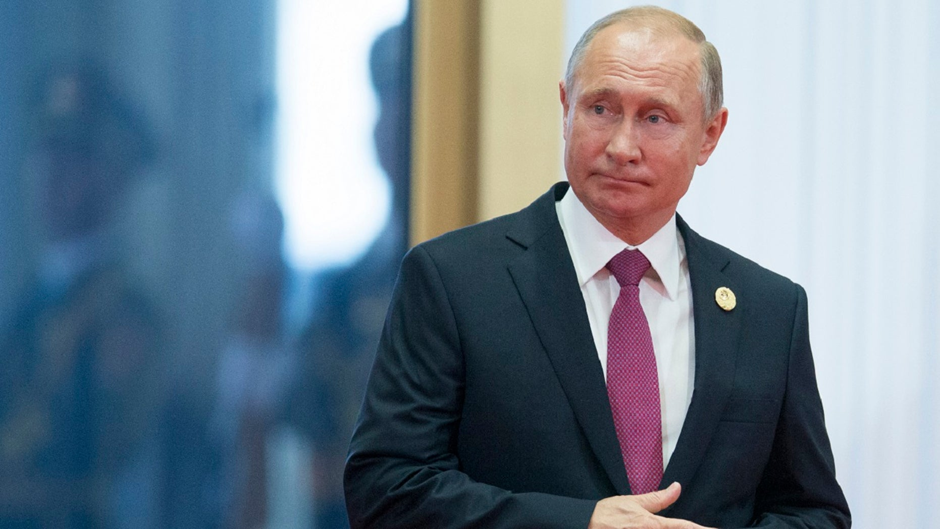 Russian President Vladimir Putin says he shares President Donald Trump's concerns about a renewed arms race.